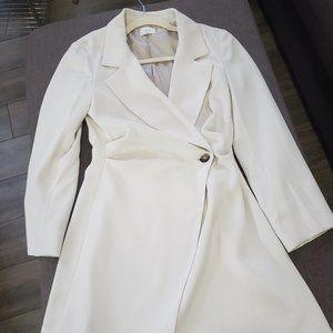 Aritzia Jackets & Coats - Aritzia Wilfred cream color blazer dress